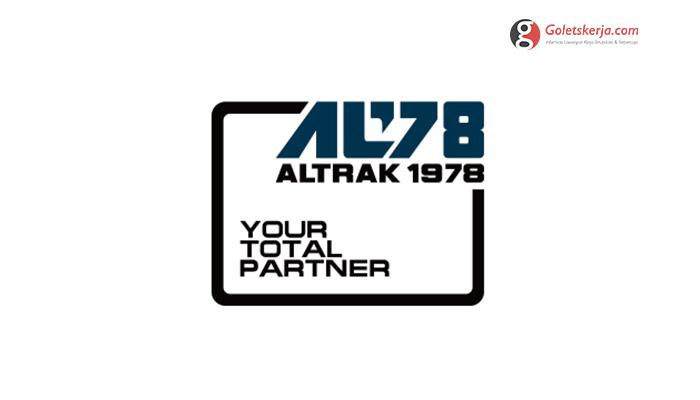Lowongan Kerja PT Altrak 1978 - Juli 2021