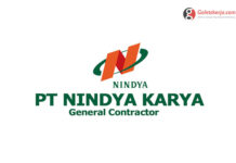 Lowongan Kerja PT Nindya Karya (Persero) - Mei 2021