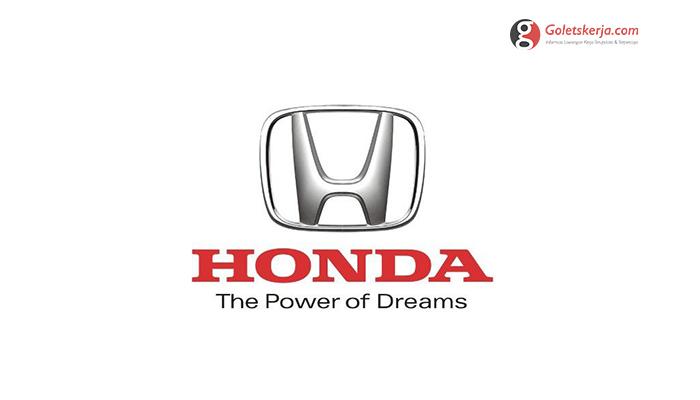 Lowongan Kerja PT Honda Prospect Motor – JUNI 2021