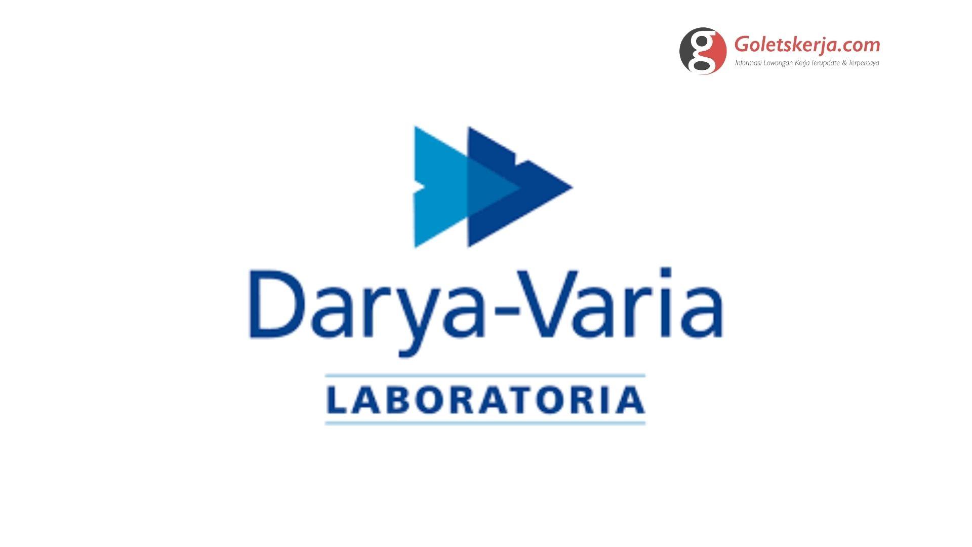 Lowongan Kerja PT Darya Varia Laboratoria Tbk