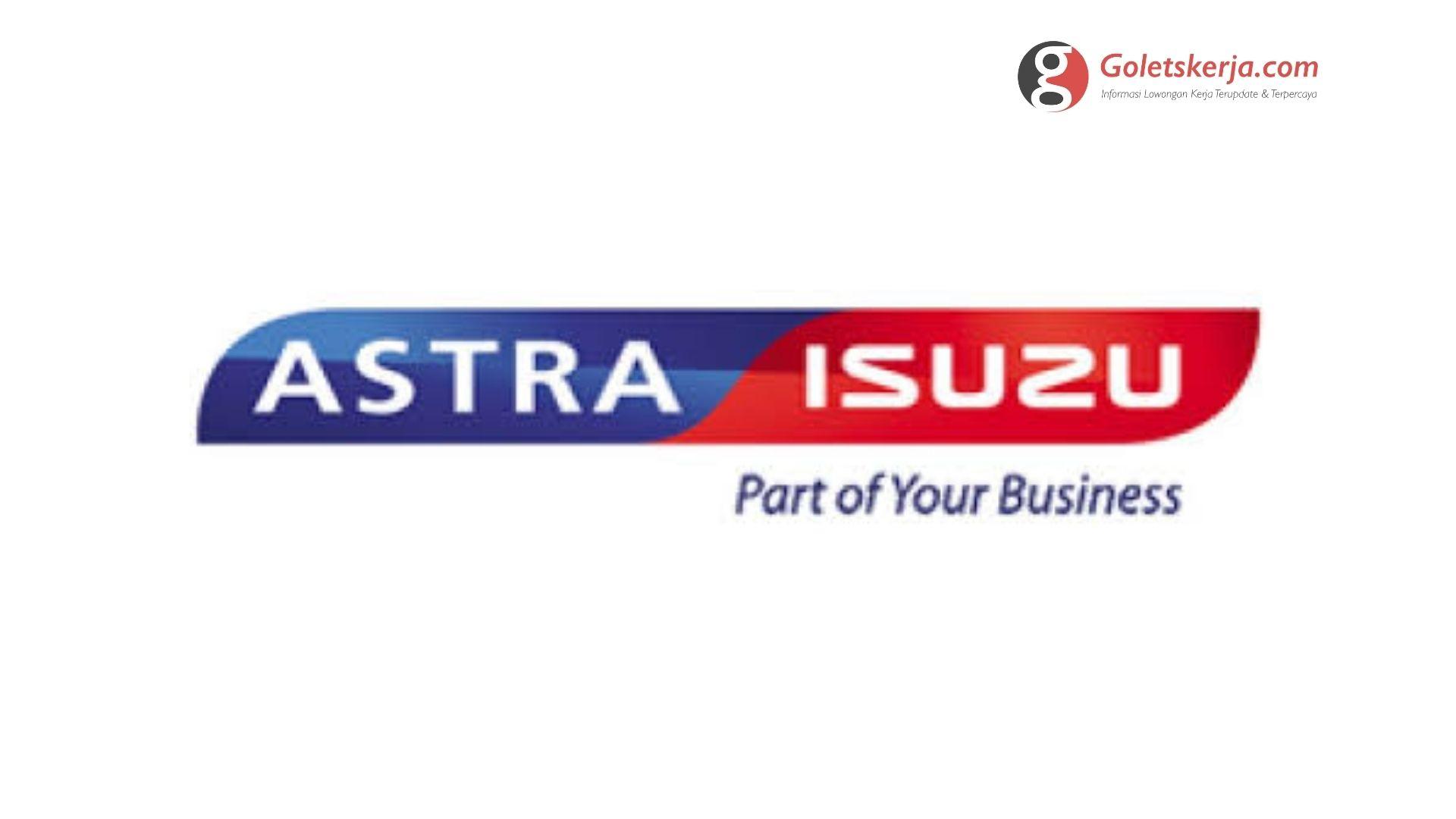 Lowongan Kerja PT Astra International Tbk (Isuzu Sales Operation)