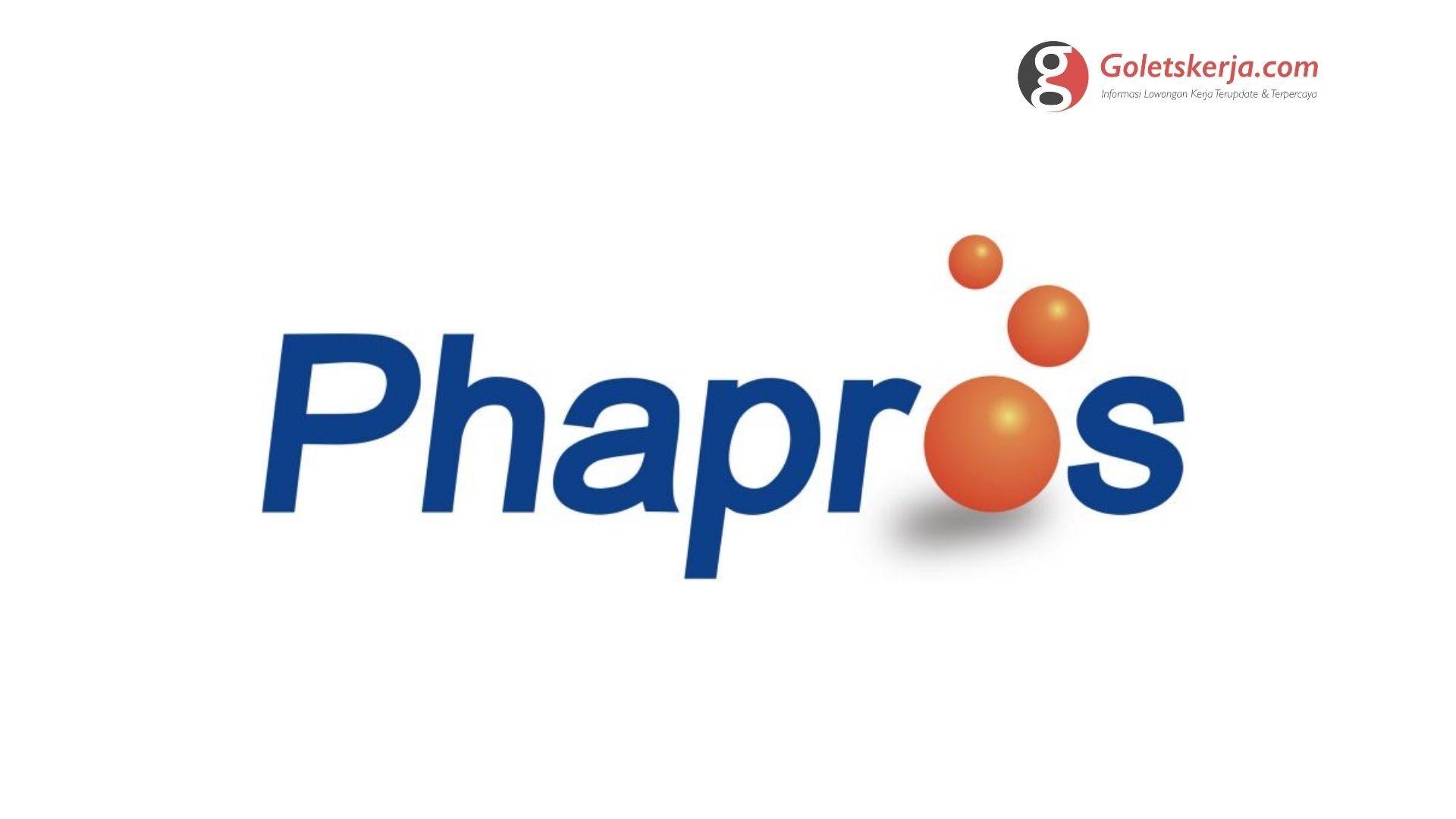 Lowongan Kerja PT Phapros Tbk. - Terbaru 2021