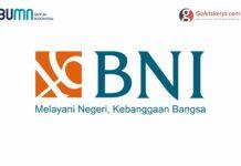 Lowongan BUMN PT Bank Negara Indonesia (Persero) Tbk.