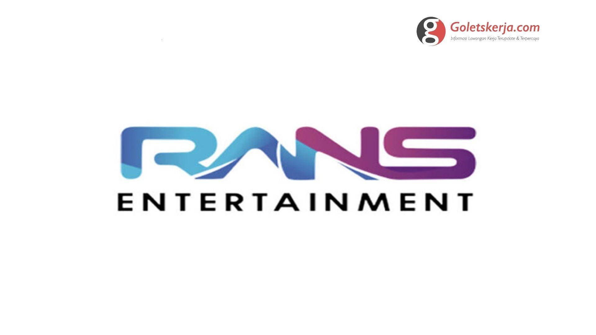 Lowongan Kerja PT. RNR Film Internasional (RANS Entertainment)