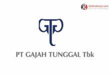 Lowongan Kerja PT Gajah Tunggal Tbk. April 2021
