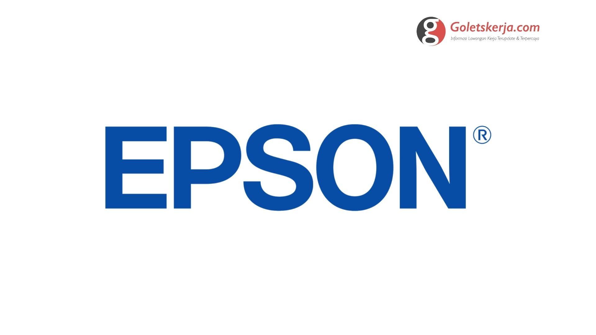 Lowongan Kerja PT Indonesia Epson Industry (IEI)
