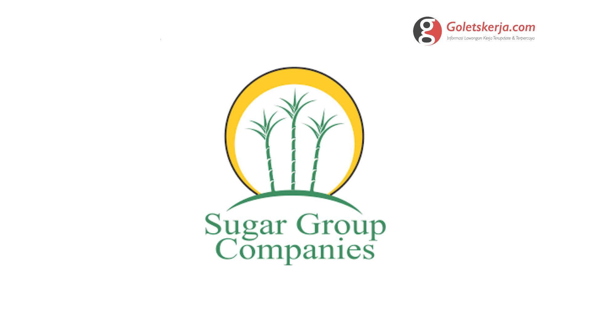 Lowongan Kerja PT Sugar Group Companies