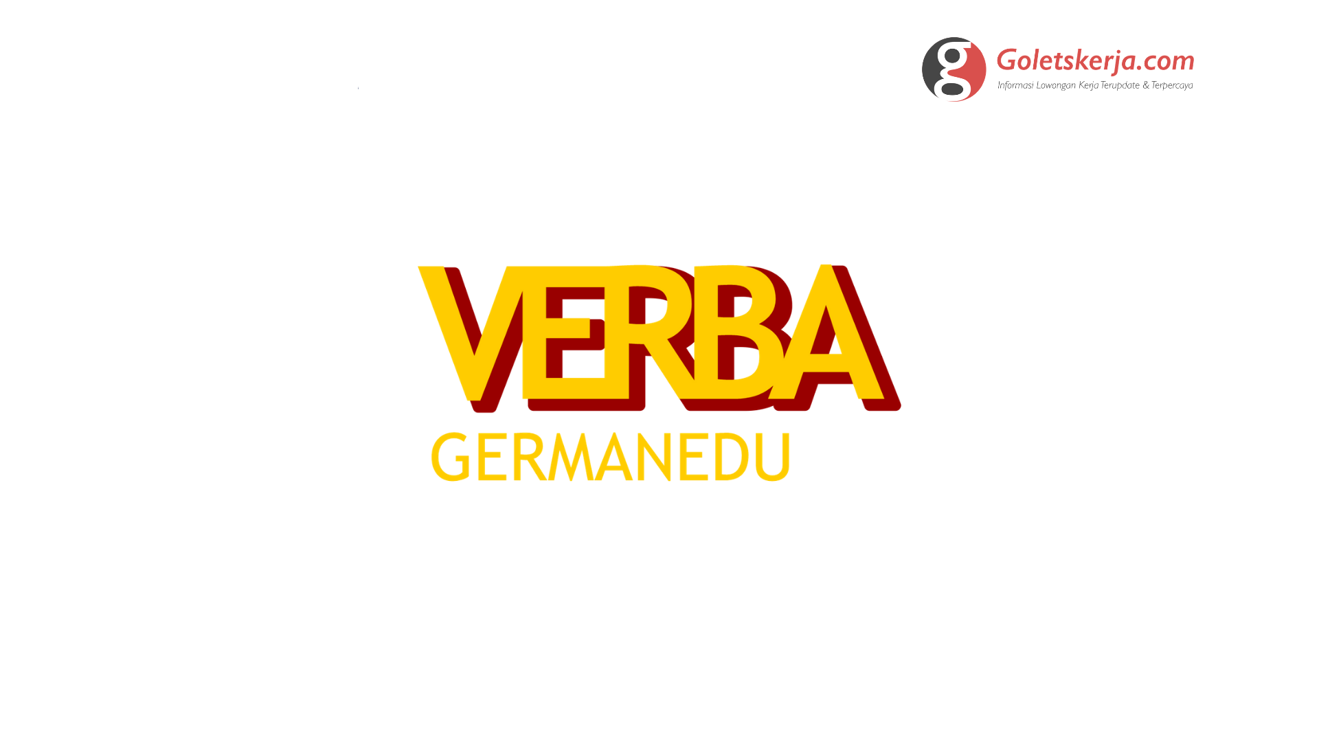 We're Hiring Verba GermanEdu