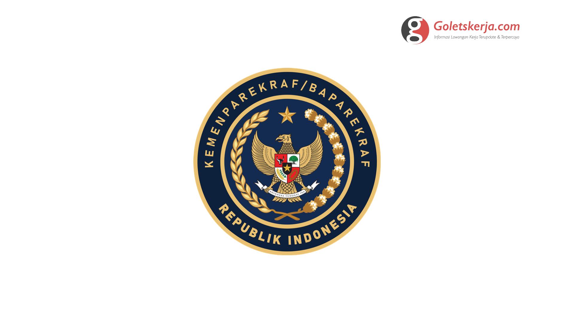 Seleksi Calon Aparatur Sipil Negara (CASN) Kementerian Pariwisata dan Ekonomi Kreatif/Badan Pariwisata dan Ekonomi Kreatif RI   TA 2021