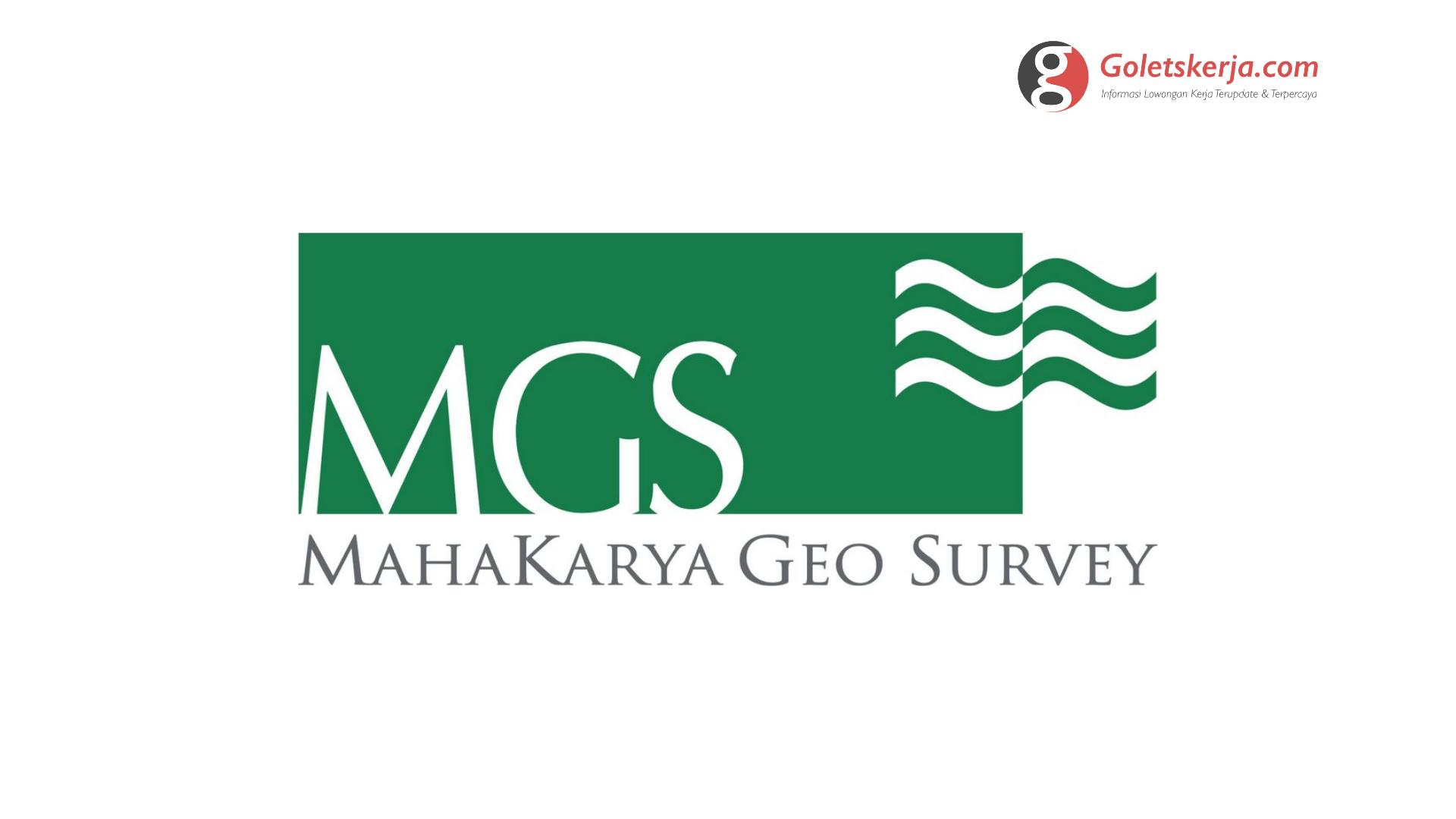 Lowongan Kerja PT Mahakarya Geo Survey   Oktober 2021
